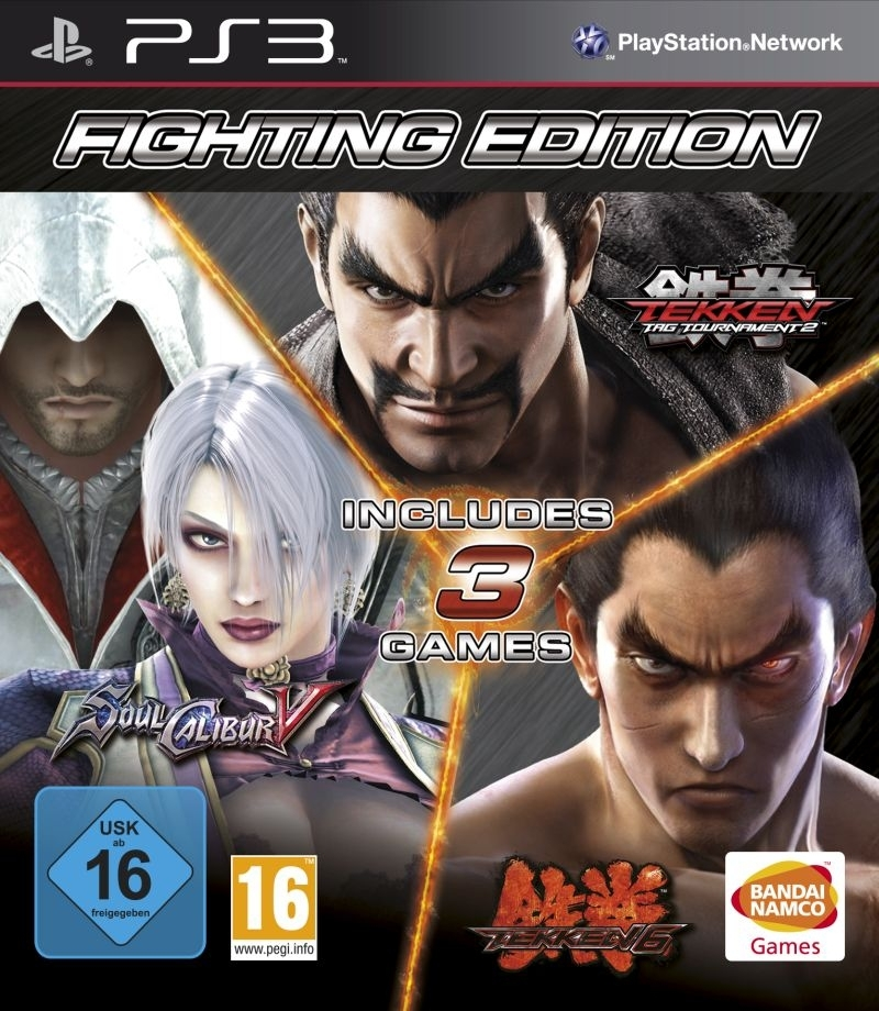 FIGHTING EDITION KOLEKCJA TEKKEN 6 / TEKKEN TAG TOURNAMENT 2 / SOUL CALIBUR V (PS3)